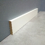 plinthe mdf medium laque blanc