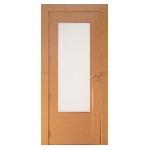 porte bois vitrée insert inox